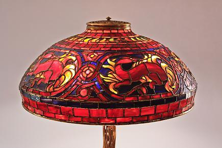 Tiffany Studios<br>Salamander Table Lamp 2