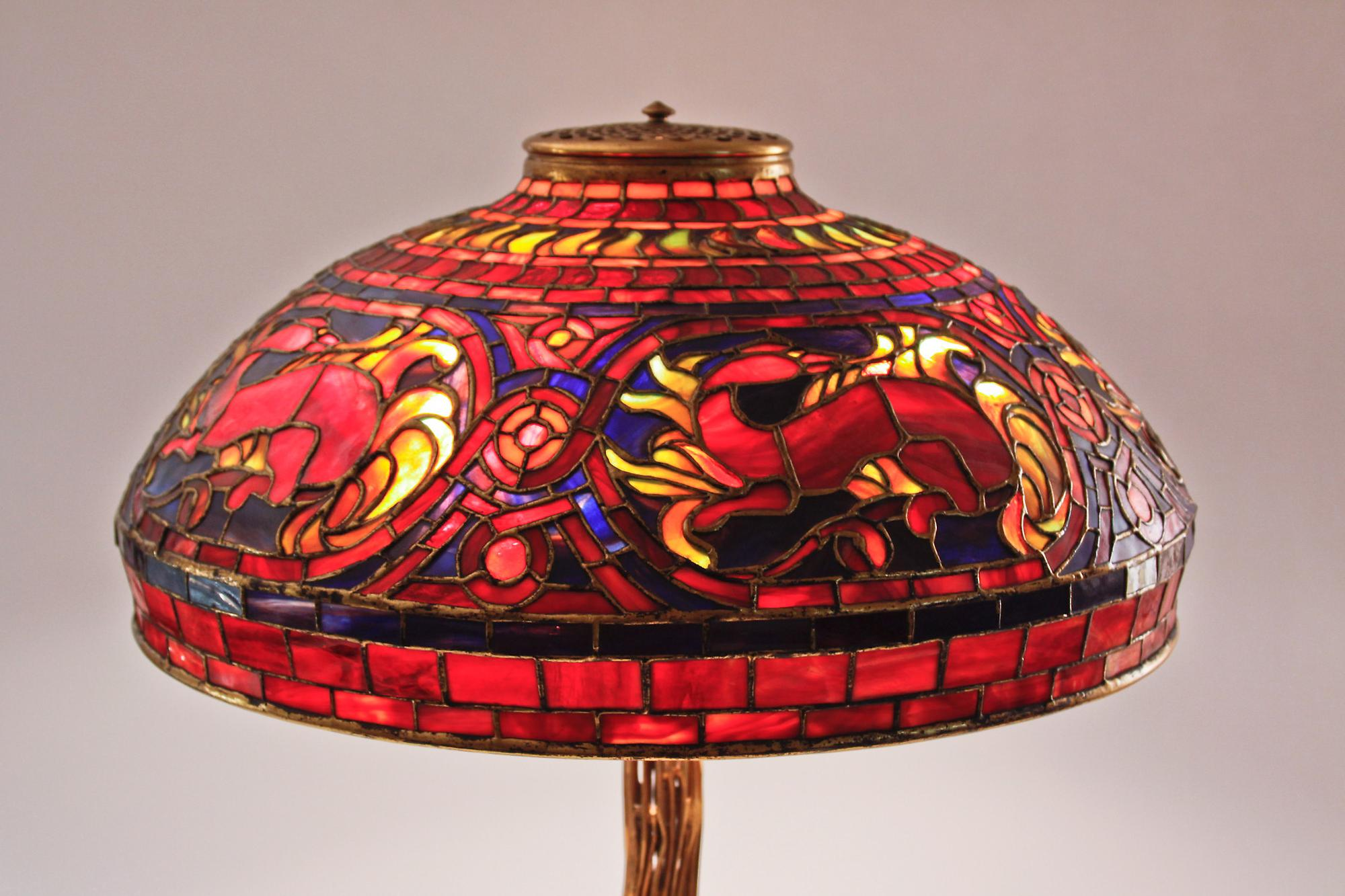 Tiffany StudiosSalamander Table Lamp 2