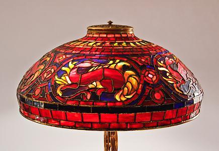 Tiffany Studios<br>Salamander Table Lamp 3