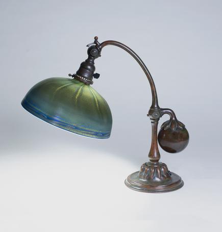 Tiffany Studios   Balance Weight  Desk Lamp 1