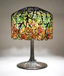 Tiffany Studios <br> Trumpet Creeper Table Lamp