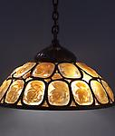 Tiffany Studios <br> Turtle Back Hanging Shade
