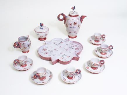 Vally Wieselthier  Ceramic Coffee Garniture 2