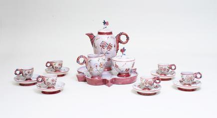 Vally Wieselthier  Ceramic Coffee Garniture 1