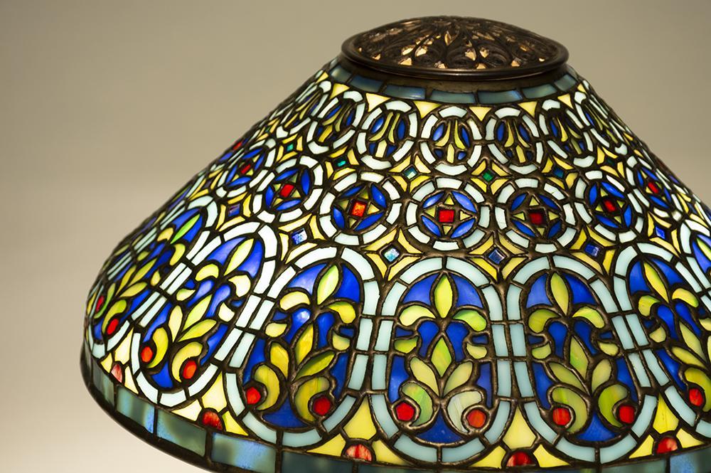Tiffany Studios   Venetian  Desk Lamp 2
