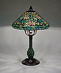 Tiffany Studios <br> Wild Rose Table Lamp