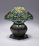 Tiffany Studios <br> Wild Rose Table Lamp