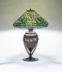 Tiffany Studios  Rare Wild Rose Table Lamp