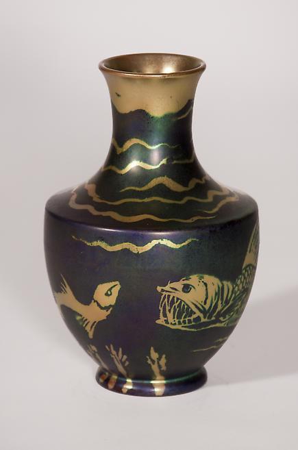 Zsolnay Iridescent Vase 1