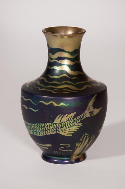 Zsolnay Iridescent Vase 2