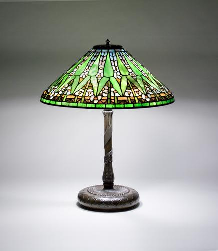 Tiffany Studios Arrowhead Lamp 1