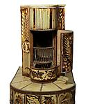 Henry Varnum Poor  &lt;br&gt;Ceramic Stove