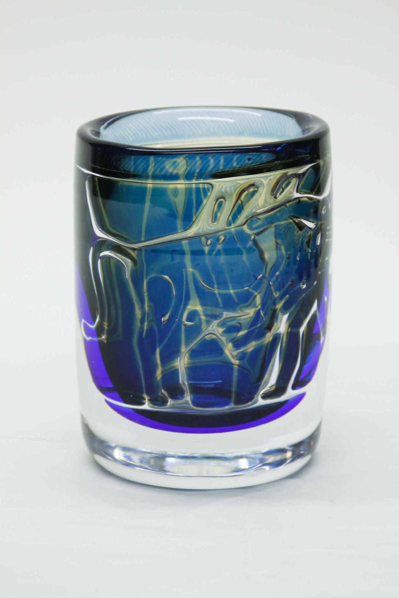 Orrefors Ariel Bullfighter Vase 2