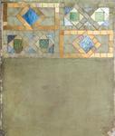 Tiffany Studios  Mosaic Border Sample Panel
