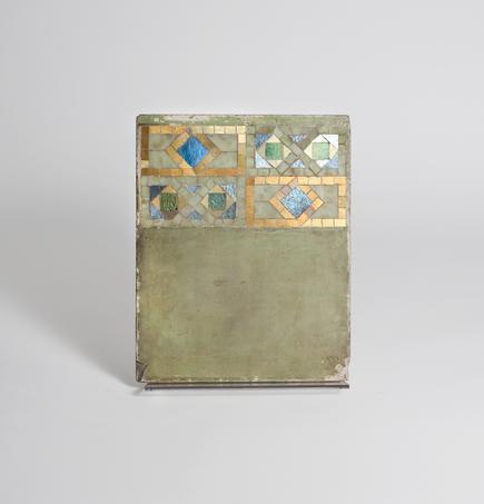 Tiffany Studios  Mosaic Border Sample Panel 1