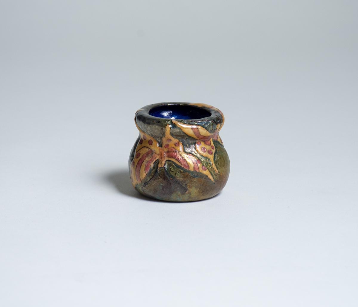 Tiffany Studios  Rare Enamel Vase 1