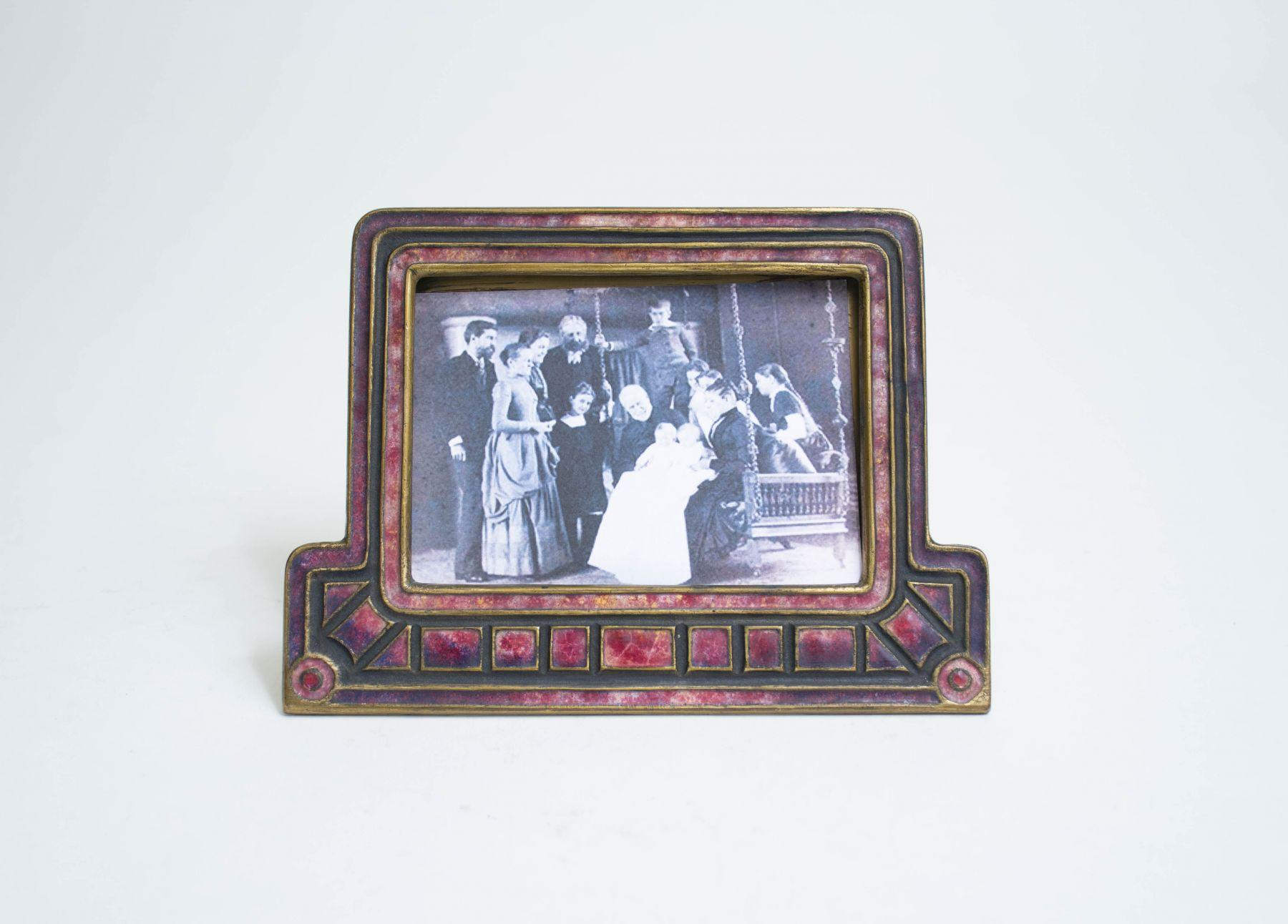 Louis C. Tiffany Furnaces   Art Deco  Calendar Frame 2