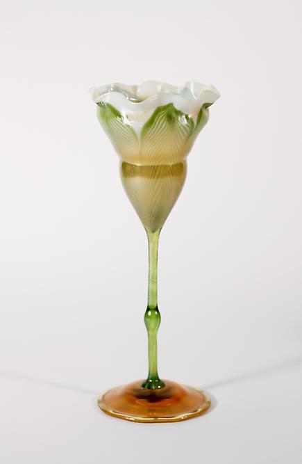 Tiffany Favrile Glass <br> Flower Form Vase 1