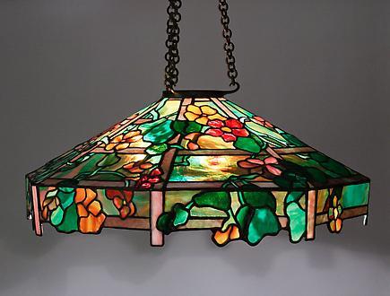 Tiffany Studios Nasturtium Chandelier 1