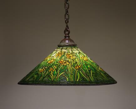 Tiffany Studios  Hanging  Daffodil  Shade 1