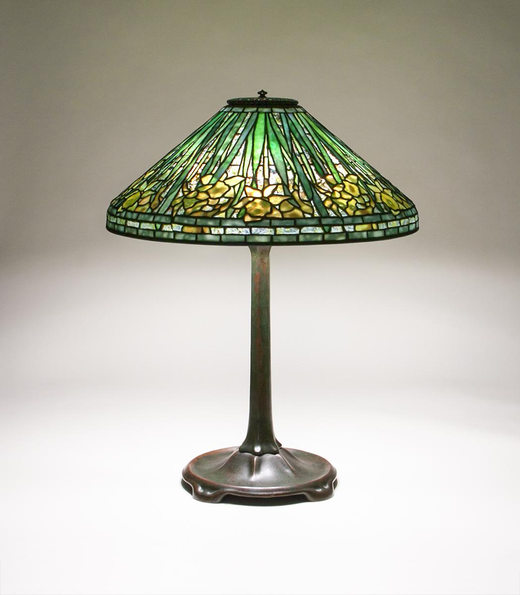 Tiffany Studios  Daffodil Table Lamp 1