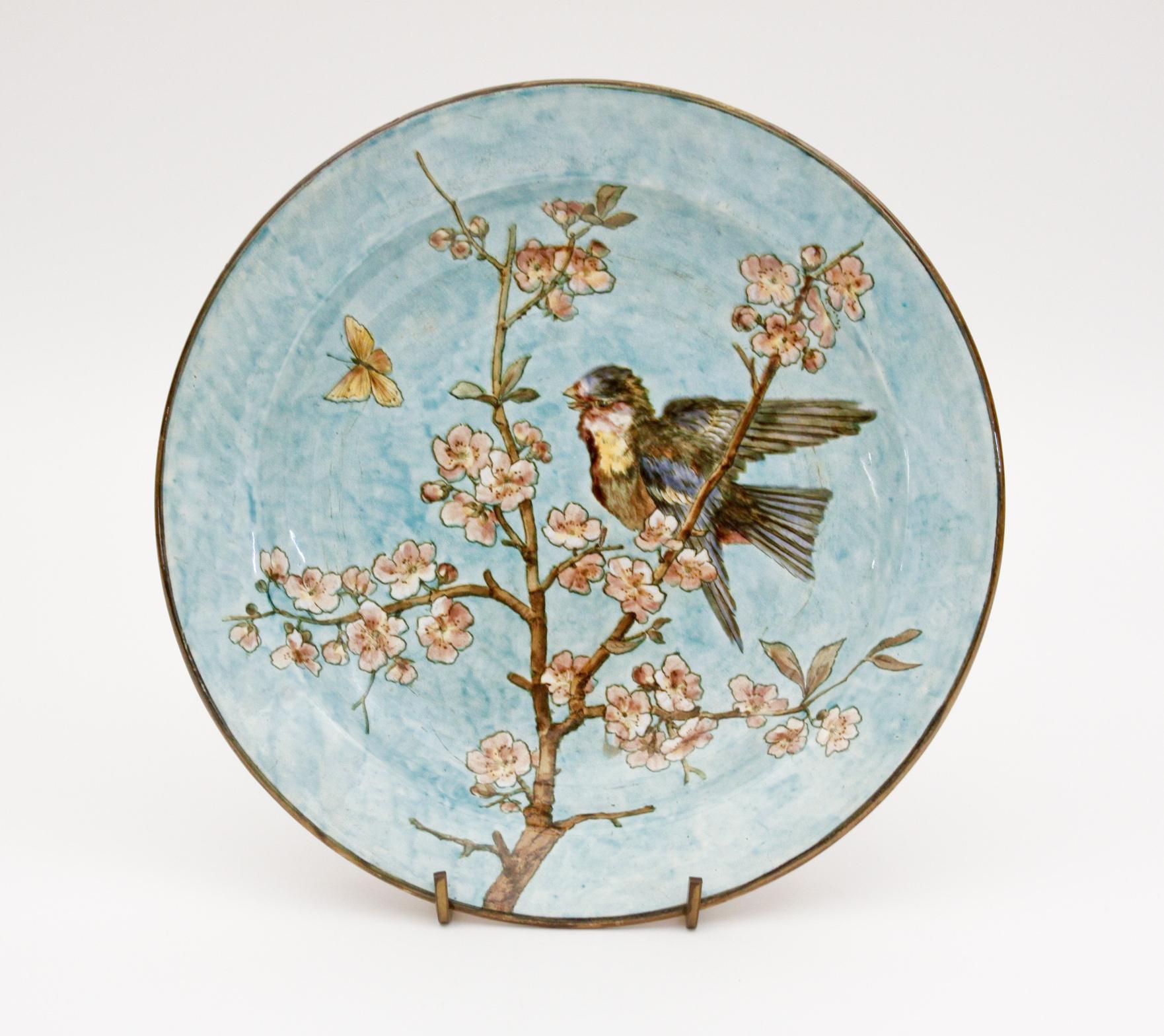 John Bennett  Ceramic Charger 1