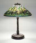 Tiffany Studios <br> Early Dragonfly Lamp