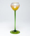 Tiffany Favrile Glass  Early Opalescent Flower Form Vase