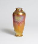 Tiffany Favrile Glass  Early Decorated Vase