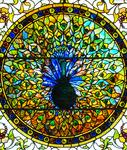 Tiffany Glass & Decorating Co.  Early  Peacock Window