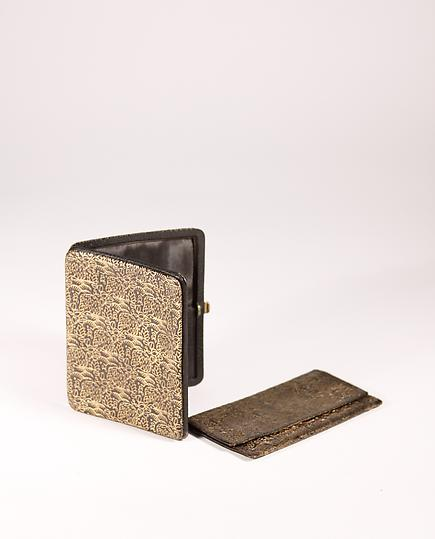 Dagobert Peche Leather Cigarette Case and Card Holder 2