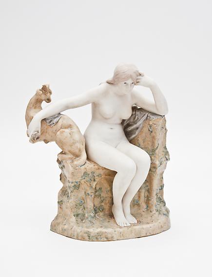 "Sevres  Sculptural Figure ""L'Enigme"" 2"