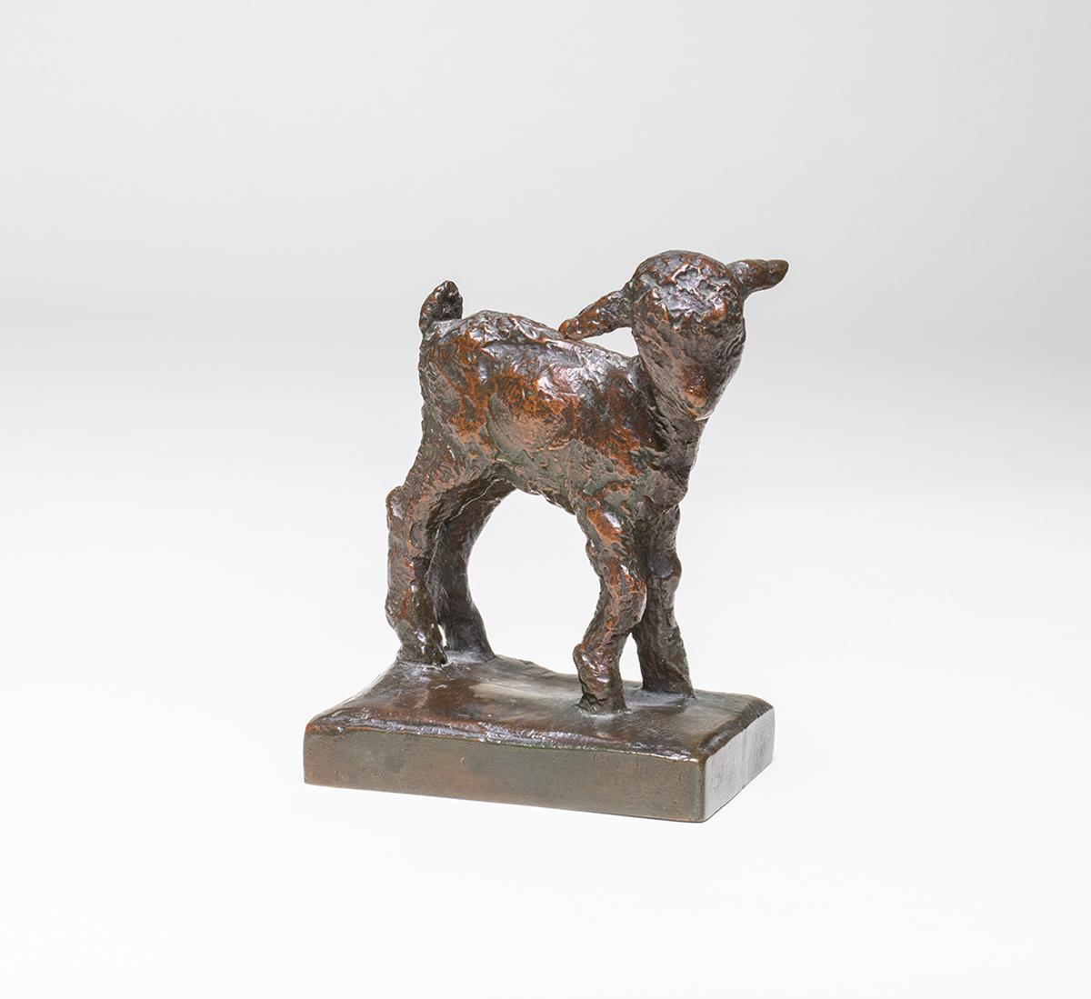 "Edith Barretto Parsons ""Quiet Goat"" 1"