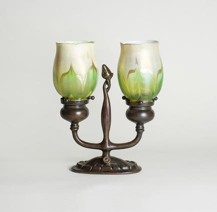 Tiffany Studios  Electrified Candelabrum 2