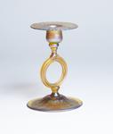 Tiffany Favrile Glass  Candlestick