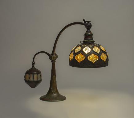 Tiffany Studios  Rare Balance Weight Lamp 2