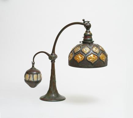 Tiffany Studios  Rare Balance Weight Lamp 1