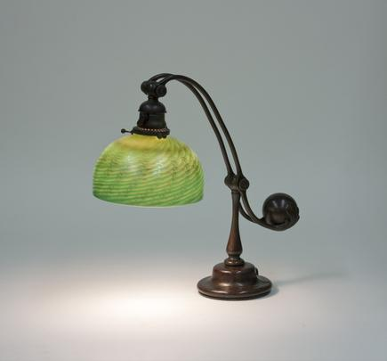 Tiffany Studios <br> Balance Weight Desk Lamp 2