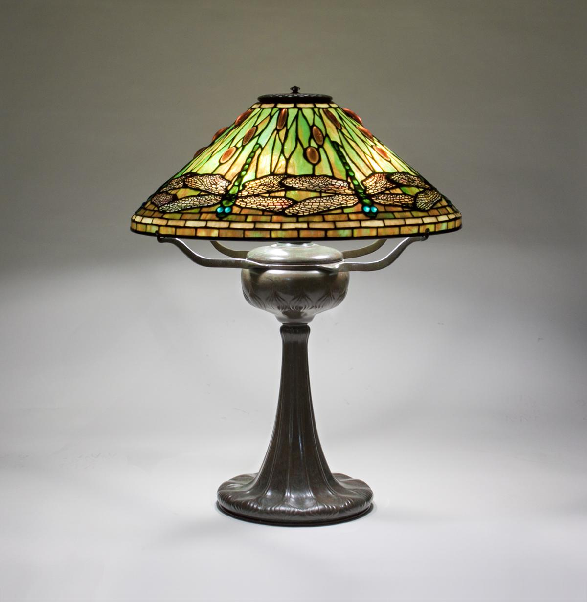 Tiffany Studios  Dragonfly Table Lamp 2