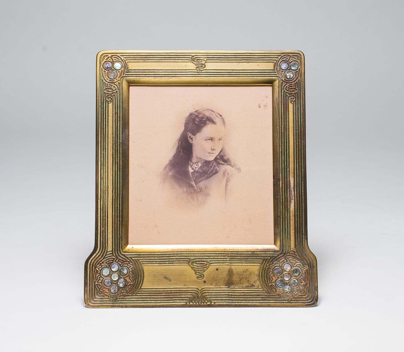 Tiffany Studios Abalone Picture Frame 1