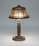 Tiffany Studios <br> Linenfold Desk Lamp