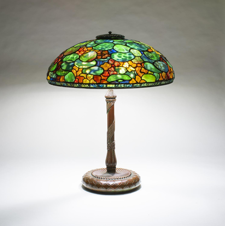 Tiffany Studios  Nasturtium Table Lamp 2