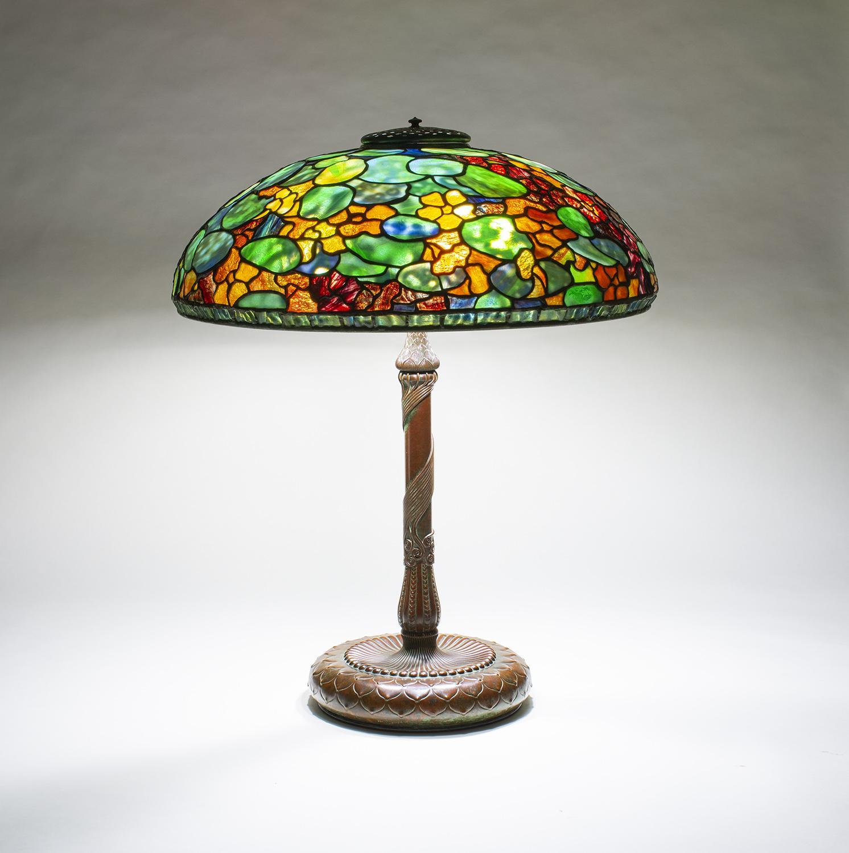 Tiffany Studios  Nasturtium Table Lamp 3