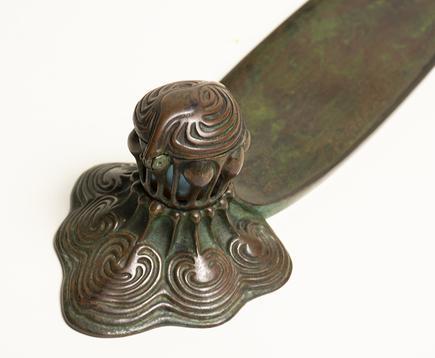 Tiffany Studios  Early Octopus Inkwell and Pen Tray 2
