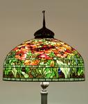 Tiffany Studios <br> Oriental Poppy Senior Floor Lamp