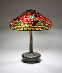 Tiffany Studios <br> Peony Table Lamp