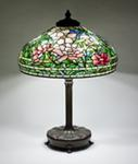 Tiffany Studios <br> Peony Table Lamp