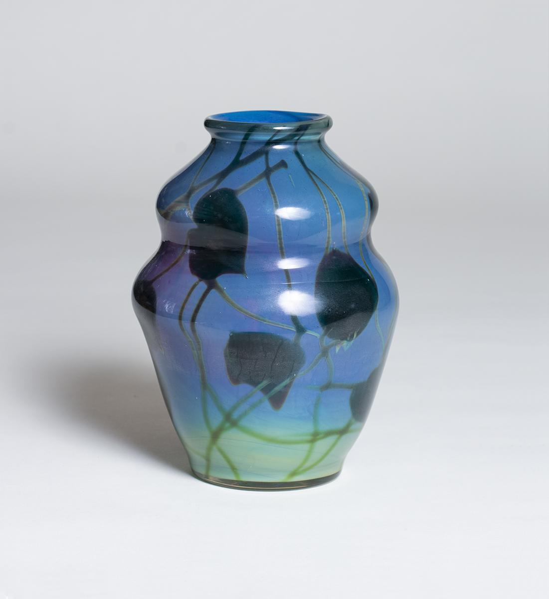Tiffany Favrile Glass  Reactive Vase 3