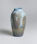 Ed Diers for Rookwood Pottery  Scenic Vellum Vase