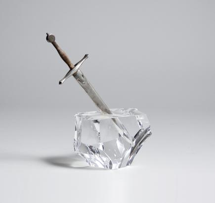 'Excalibur' Paperweight and Letter Opener 1